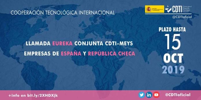 Llamada bilateral eureka entre España y República Checa