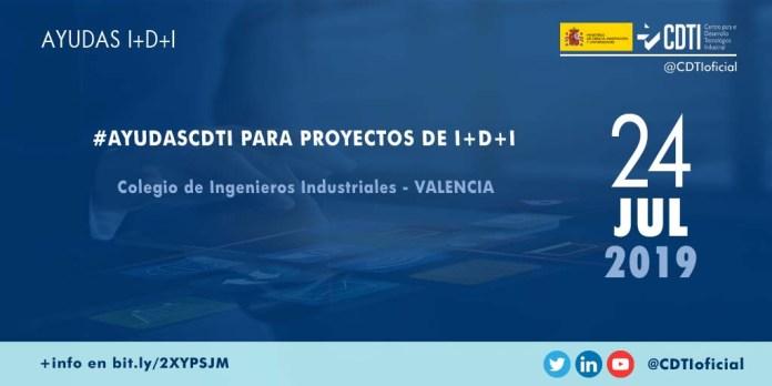 Evento AyudasCDTI a la I+D+I en Valencia
