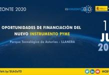 Evento Asturias financiación sobre el nuevo Instrumento PYME