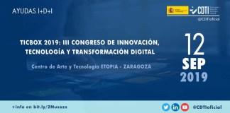 Ayudas innovación en TICbox en Zaragoza