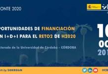 Jornada oportunidades reto 2 de Horizonte2020 en Córdoba