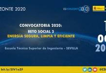 Jornada convocatoria H2020 energía limpia y eficiente
