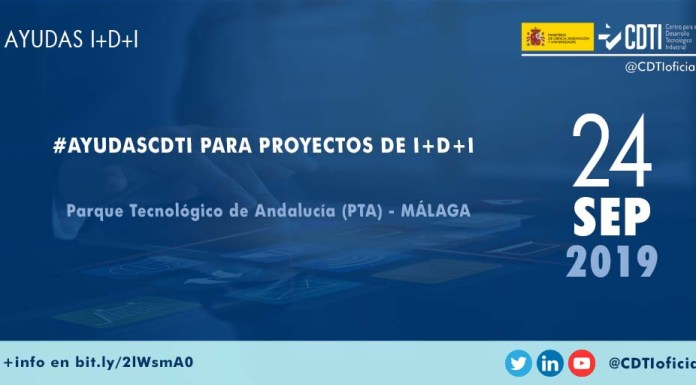 Presentación ayudasCDTI para innovación en Málaga