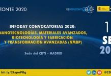 Infoday Horizonte 2020 convocatorias NMBP