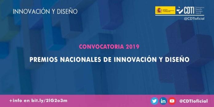 Premios nacionales diseño e innovación