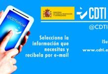 Servicio CDTI listas de distribución
