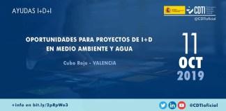 Jornada financiación innovación en las áreas del medio ambiente y agua