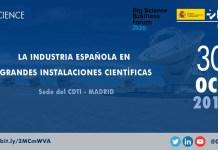 evento grandes instalaciones cientificas
