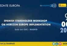 evento contribución española a la estrategia de implementación del programa Horizonte Europa