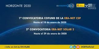 convocatorias era-net energía solar