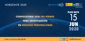 convocatoria 2020 erapermed