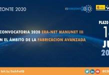 convocatoria 2020 era-net manunet