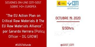 sesion SOST CDT raw materials