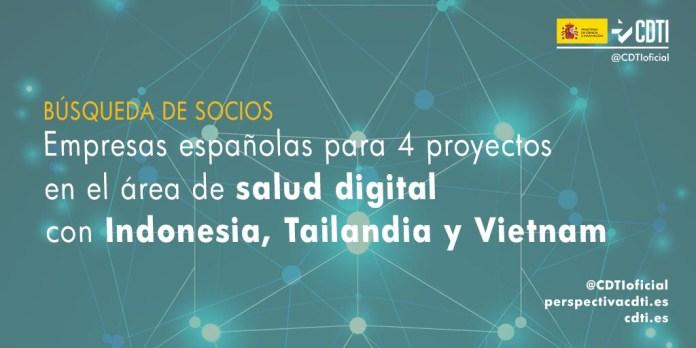 búsqueda de socios salud digital