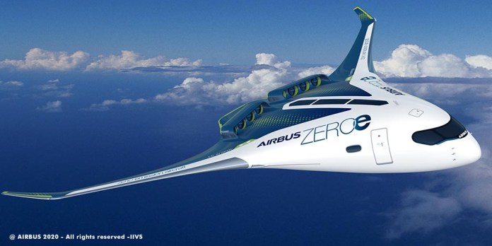 AirbusZEROe-Blended-Wing-Body-Concept