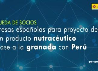 busqueda socios desarrollo producto nutracéutico en base a la granada con Perú
