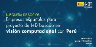 búsqueda de socios españoles para proyecto de visión computacional
