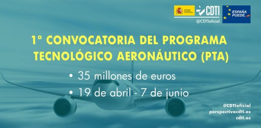 primera convocatoria programa tecnologico aeronautico
