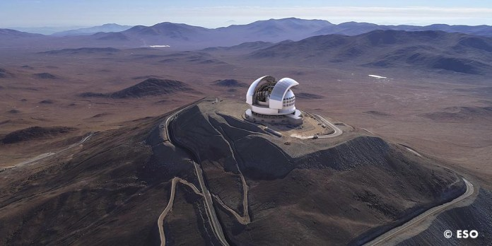 infrestructuras del Observatorio Europeo Austral