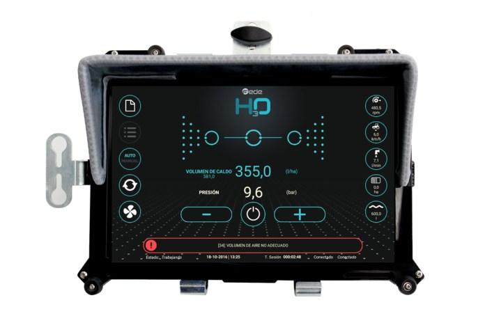 Tablet H30, visualización de los tratamientos