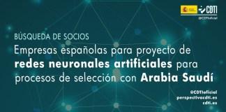 búsqueda socios inteligencia artificial con Arabia Saudí