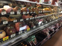 The great deli selection. They will also make you a sandwich right there!