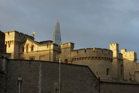 The Tower of London in the early morning light