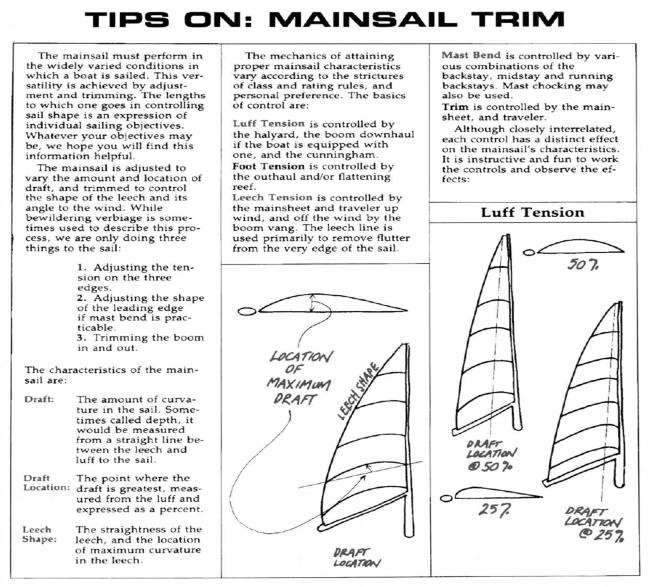 Mainsail Trim 1