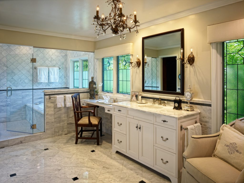 Perspectives Interior Design Colorado Awards for Remodeling Excellence Luxury Bathroom Remodel Cherry  Hills Village