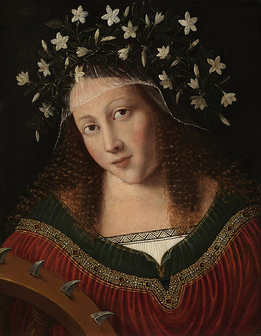 St. Catherine Crowned