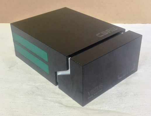 Sliding Box with engraving and magnets to locate and shut. - 2