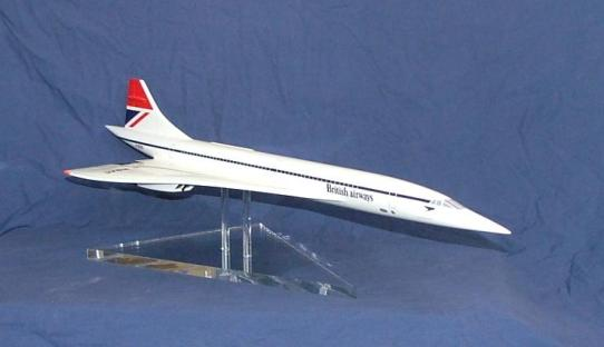 Model Concorde Display Stand