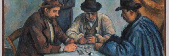 Cezanne, card player series