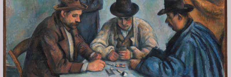 Cezanne, card player series