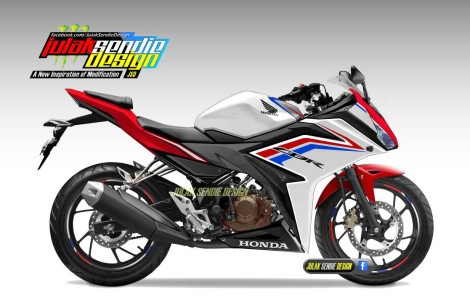 All New Honda CBR150R 2016 RWB pertamax7.com