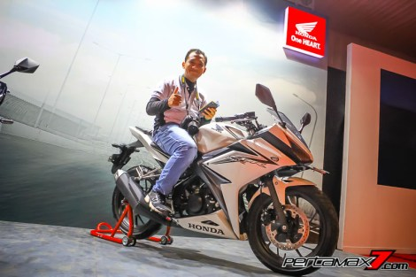 Gallery Launching All New Honda CBR150R 2016 di Sentul 13 Pertamax7.com