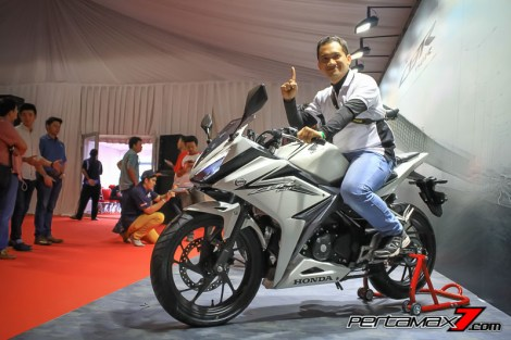 Gallery Launching All New Honda CBR150R 2016 di Sentul 16 Pertamax7.com