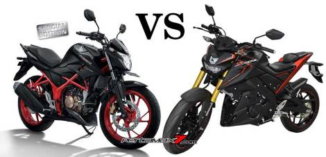 Power All New Honda CB150R diatas Yamaha XABRE hasil Dynotest pertamax7.com