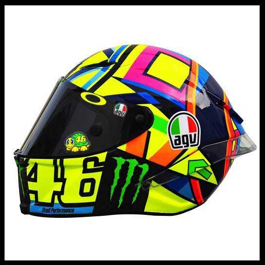 intip helm agv soleluna 2016 qatar motogp valentino rossi. Black Bedroom Furniture Sets. Home Design Ideas