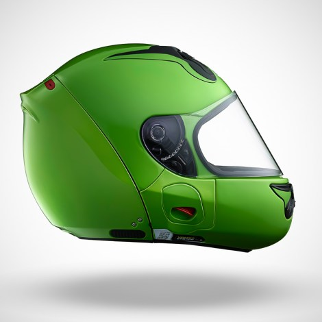 Gallery Foto Helm VOZZ_Green_side