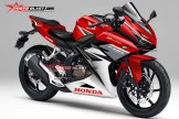 Render Honda CBR250RR red white