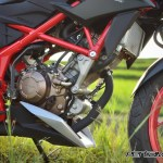 mesin All New Honda CB150R Special Edition raptor Black Pertamax7.com