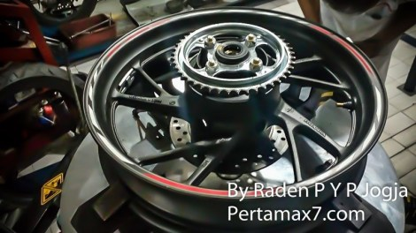 velg belakang all new honda CBR150R 2016