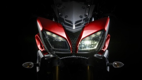 Headlamp 2016 Yamaha MT09 Tracer EU Lava Red Action