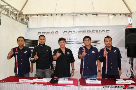 Press Conference Testride All New Honda CBR150R 2016 Racing Red Purwokerto Pertamax7.com