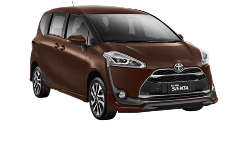 Warna Toyota Sienta dark brown mica metallic