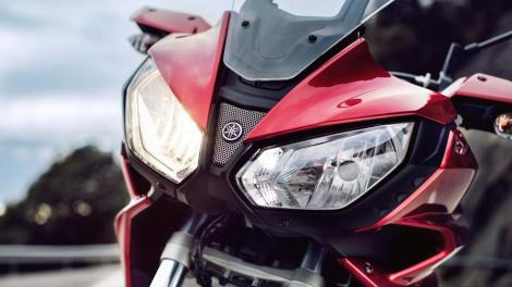 headlamp Yamaha MT07 Tracer 700 2016-Yamaha-MT07TR-EU-Radical-Red-Detail-007 Pertamax7.com