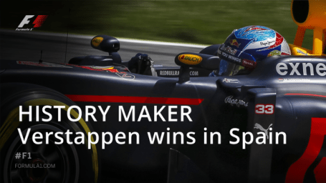 History maker Max Verstappen wins in spain F1 Grand Prix 2016 pertamax7.com