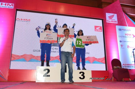 Juara Kategori Advisor Komunitas Skutik Astra Honda Safety Riding Instructors Competition 2016 pertamax7.com