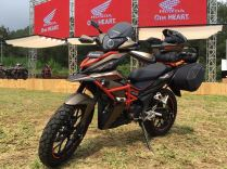 Modifikasi Honda Supra GTR 150 Advanture Ala AHM